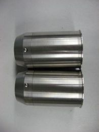 TRIUMPH FORK SEAL HOLDER CUP 69-70 STAINLESS