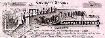 WELCOME TO THE HISTORY OF TRIUMPH MOTORCYCLES